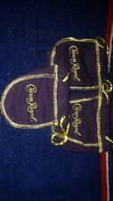 Crown Royal Set Of Three Purple Deluxe Mini Bags 50 ml Whiskey - Gifts Coins Etc