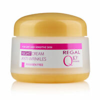 Regal Anti Wrinkle Q 10 Night Cream for Dry and Sensitive Skin 50ml