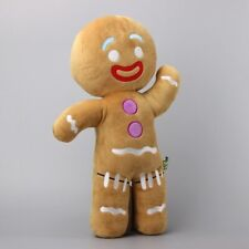"Dreamworks Shrek Movie Gingerbread Man Gingy Plush Stuffed Toy Doll 14"" Hot Us"