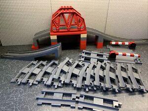 LEGO Duplo 3774 Train Bridge Crossing & Track Set