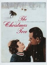The Christmas Tree JAPAN PRESS SHEET Terence Young, Brook Fuller, William Holden
