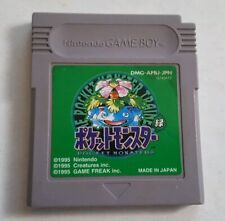 Pokemon Green Pocket Monsters Japanese Import Gameboy Game Boy Color Video Game