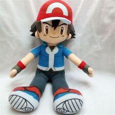 "Anime 30cm/12"" Pokemon Ash Ketchum Stuffed Plush Toy Doll Collection Xmas Gift N"