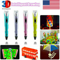 3D Printing Pen PLA Filaments Crafting Doodle Drawing Arts Printer Modeling HOT