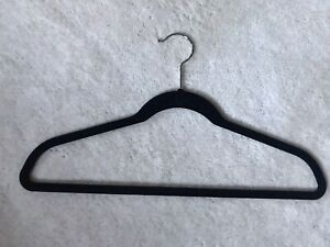 JOY MANGANO Huggable Hanger 10 piece set - Black/Chrome Suits & Pants Preowned