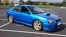 SUBARU Impreza STi Body Kit,lips,side skirt extension 03-05 Blobeye. HT Autos.