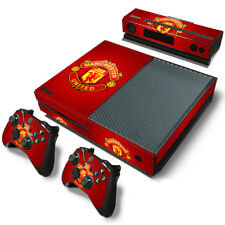 Manchester United FC Skin Sticker Decal  FOR XBOX ONE  Console &2 Controllers