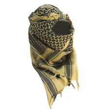 PAÑUELO PALESTINO COYOTE ARENA Y NEGRO SHEMAGH, AIRSOFT PAINTBALL SUPERVIVENCIA