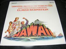Still Sealed LP ELMER BERNSTEIN HAWAII Soundtrack LP United Artists 1966 Originl
