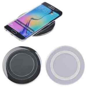 QI Wireless Charging Pad for Galaxy Edge Note iPhone 11 / Pro /Max /XS Universal