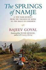 The Springs of Namje: A Ten-Year Journey from the Villages of Nepal to-ExLibrary