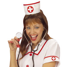 KRANKENSCHWESTER HUT Karneval Ärztin Schwester Mütze Haube Kostüm Fest Deko 3333
