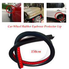 1.5m SUV Car Wheel Wiper Strip Eyebrow Trim Flexible Fender Lip Guard Universal
