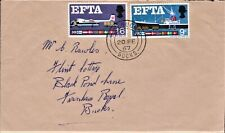 GB 1967 FIRST DAY COVER EUROPEAN FREE TRADE ASSOCIATION SG715-6