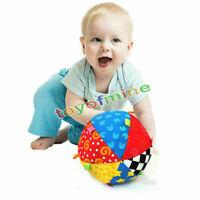 Niedlich Bunt Spielzeug Handglocke Ball Bed Bell Kinder Baby Rassel Gift