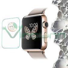 Pellicola VETRO trasparente per Apple Watch 38m protezione sottile schermo