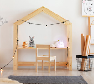 Wooden Children's House Desk |  Wooden Desk for Kids | Children Desk