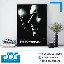 2005 PRISON BREAK - TV Series Poster Print A3 A4 A5 - Home Decor/Wall Art