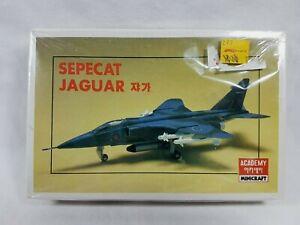 Sepecat Jaguar Fighter Jet 1:144 Scale Model Kit Academy 1980s Aus Seller