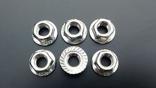 Stainless Steel Sprocket Nut Set for Kawasaki Z 1000 from 2003- 2014