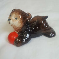 Vintage Goebel Bear with Red Ball 36-604-06 W. Germany