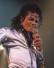 1989 King of Pop MICHAEL JACKSON Glossy 8x10 Photo Musical Print Concert Poster