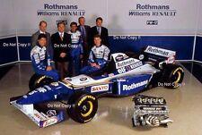 Damon Hill & David Coulthard Williams FW17 Team Launch 1995 Photograph