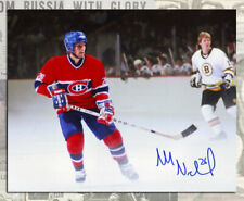Mats Naslund Montreal Canadiens Autographed 8x10 Game Auction