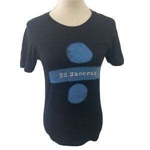 Ed Sheeran Divide Tour T-Shirt, XSmall, Official Merchandise