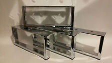 4x PRE FIX CHROME REPLACEMENT FURNITURE FEET/ LEGS SOFA, BEDS, CHAIRS