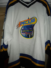2002-03 QSPHL THETFORD MINES PROLAB GUY LORANGER GAME WORN HOCKEY JERSEY