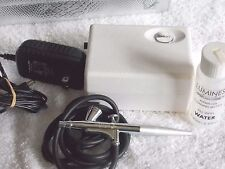 Luminess Air Airbrush SIGNATURE SYSTEM BC200M & Pouch Used NO MAKEUP