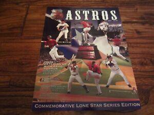 May 2007 Houston Astros Program Commemorative Lone Star Series AUTO Biggio RARE