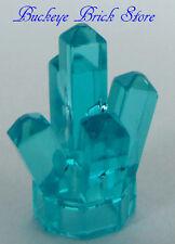 NEW Lego CRYSTAL Rock Monster Jewel Power Miner Minifigs BLUE Treasure Chest Gem