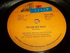 """GEORGE BAKER SELECTION """" BABY BLUE / I'M ON MY WAY """" 7"""" SINGLE VG REPRISE 1972"""