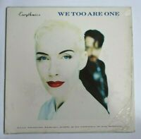 EURYTHMICS – We Too Are One -Vinyl LP Album 1989 RCA ‎– PL 74251 + Lyric Poster