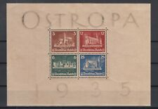 X4557/ GERMANY REICH – OSTROPA – BLOCK MI # 3 MINT MH – CV 1540 $