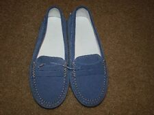 NEW Girl's Junior TOD'S Gommino Driving Shoes in Suede sz1 EUR 32 Made in Italy