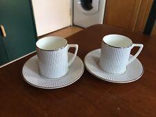 Jasper Conran Espresso Cups and Saucers