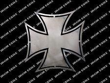 Iron Cross #2 Hot Rod Motorcycle Biker Rat Rod WWII Emblem Badge Metal Gusset