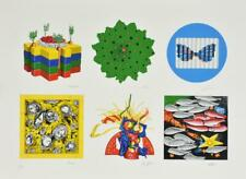 Cracking Art Group SERIGRAFIA MATERICA su carta cm 55,5 x 76 OPERA SEI AUTORI