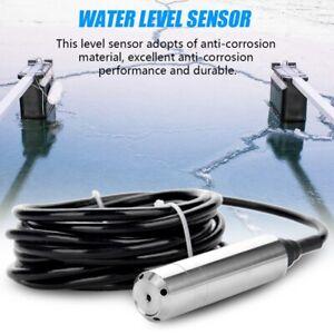 0-5m Submersible Electronic Water Level Transmitter Transducer Sensor 4-20mA UK