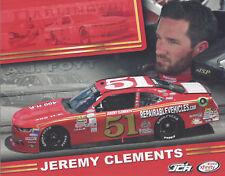 "2017 JEREMY CLEMENTS ""AJ FOYT DARLINGTON THROWBACK"" #51 NASCAR XFINITY POSTCARD"