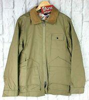 Gant Rugger Satchel Utility Military Army Khaki Green Jacket Rear Pocket £245 S