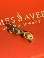 James Avery Retired 14K Yellow Gold Sunglasses Charm No Loop - Gift Box