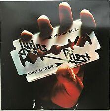 "JUDAS PRIEST ""British Steel"" Vinyl LP 1981 Columbia [Carrollton Press] VG++"