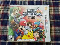 Super Smash Bros 3DS - Authentic - Nintendo 3DS - Case / Box Only!