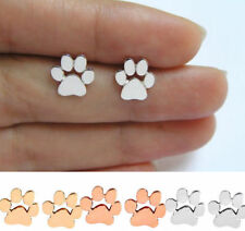 1Paar Damen Ohrringe Ohrhänger Ohrhaken Grau Hund Polymerclay Mode 3.9x1.8cm
