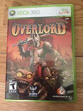 Overlord (Microsoft Xbox 360, 2007) W2