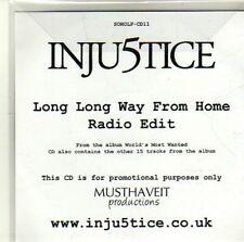 (CI649) Inju5tice, World's Most Wanted - 2010 DJ CD